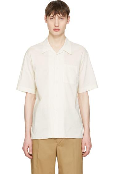 Undecorated Man - Off-White Pocket Shirt