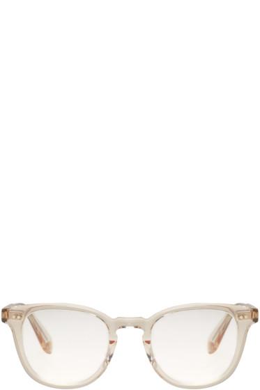 Garrett Leight - Beige McKinley Sunglasses