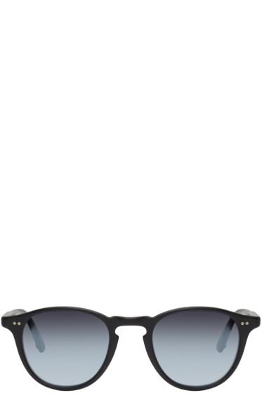 Garrett Leight - Black Hampton Sunglasses