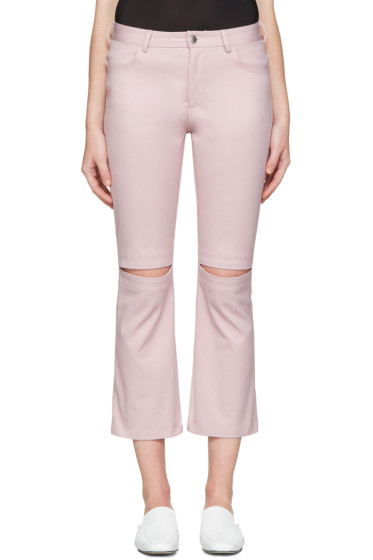 Nomia - Pink Slit Knee Jeans