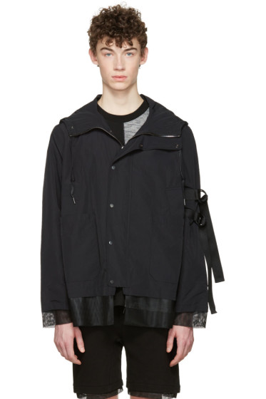 D by D - Black Hooded Jacket