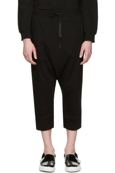 D by D - Black Wrap Lounge Pants