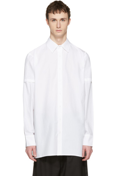 D by D - White Disco City Print Shirt