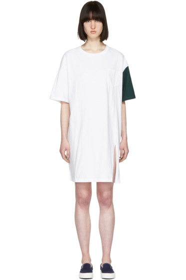 SJYP - ホワイト California Club T シャツ ドレス