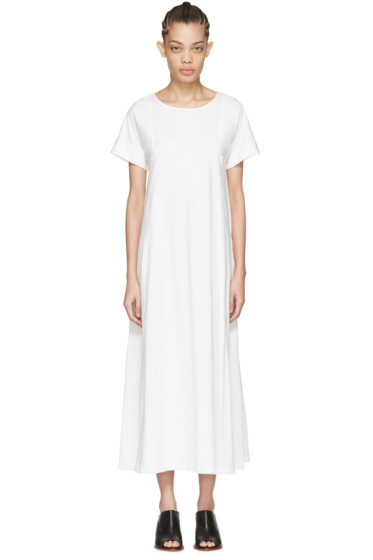 Lemaire - White T-Shirt Dress