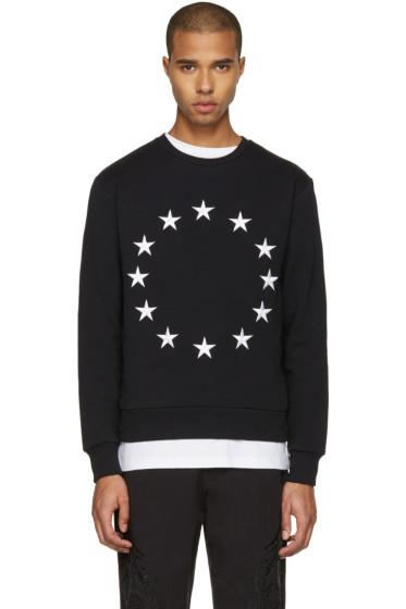 Etudes - Black Europa Stars Pullover