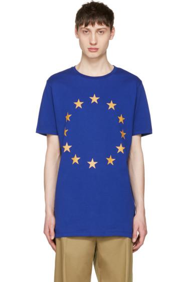 Etudes - Blue Europa Union T-Shirt