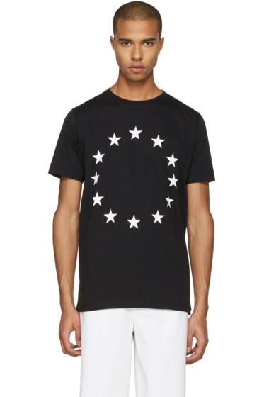 Etudes - Black Europa Stars T-Shirt