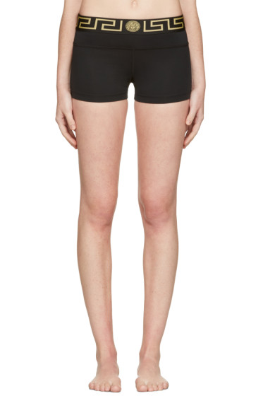 Versace Underwear - Black Medusa Boy Shorts