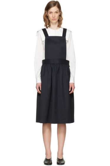 Comme des Garçons Girl - ネイビー エプロン ドレス