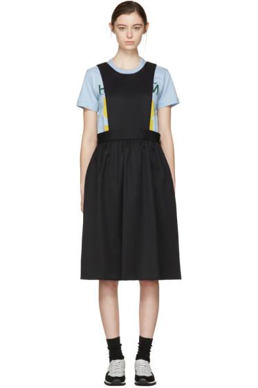 Comme des Garçons Girl - ブラック エプロン ドレス