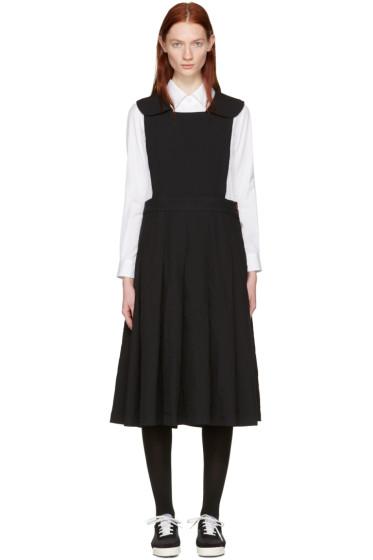 Comme des Garçons Comme des Garçons - Black Collared Pinafore Dress