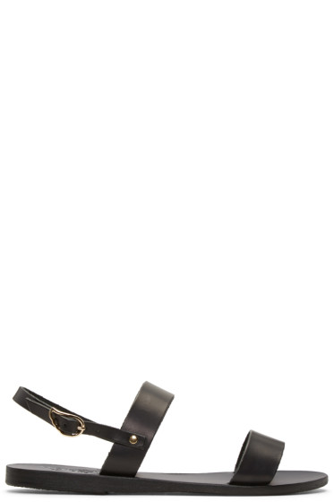 Ancient Greek Sandals - ブラック クリオ サンダル