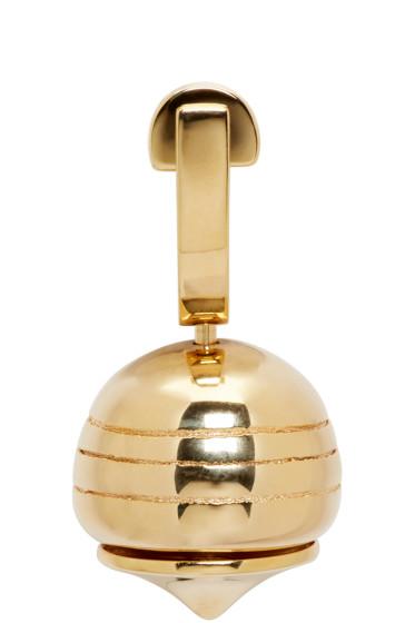 Loewe - Gold Stone Fruit Earring