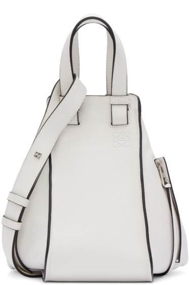 Loewe - White Small Hammock Bag