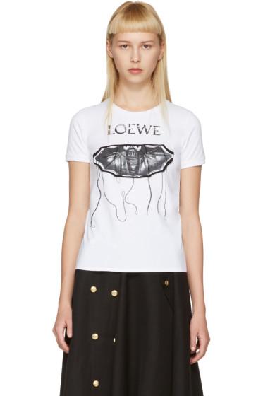 Loewe - White Bat T-Shirt