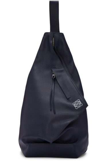 Loewe - Navy Anton Backpack