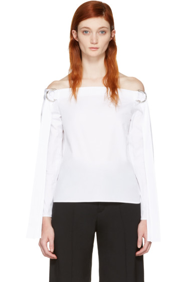 Harmony - White Tara Off-the-Shoulder Blouse