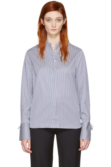 Harmony - Blue Striped Clemence Shirt