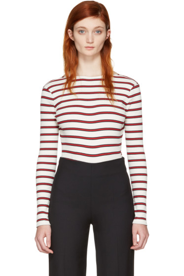 Harmony - Ecru Striped Tanya Bodysuit