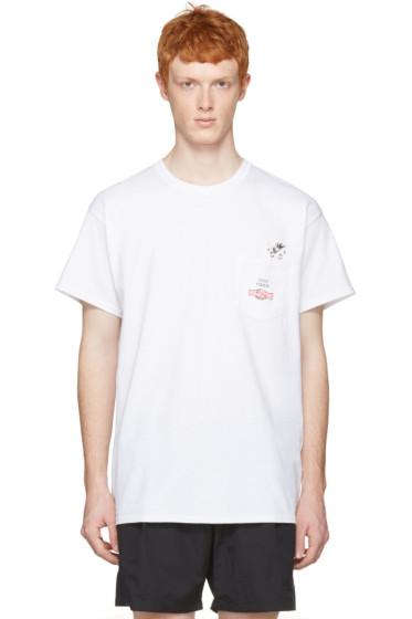 Toga Virilis - White Stud T-Shirt