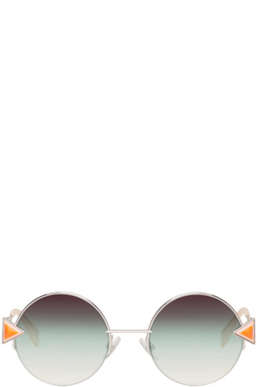 Fendi - Silver Rainbow Sunglasses