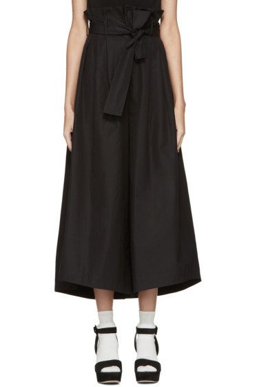 Fendi - Black Wide-Leg Trousers