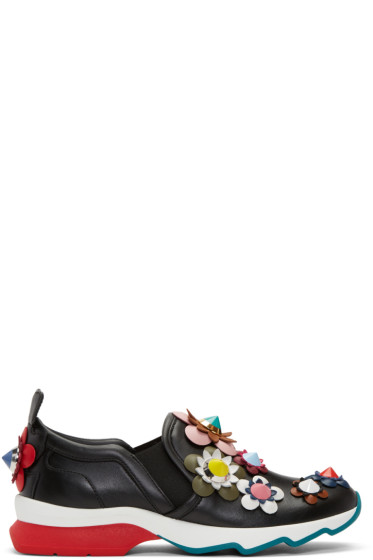 Fendi - Black Flowerland Sneakers