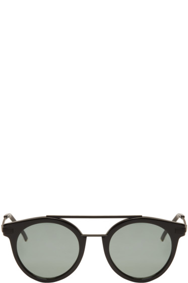Fendi - Black High Bridge Sunglasses
