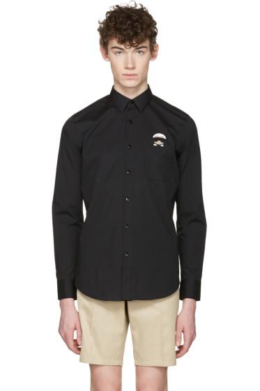 Fendi - Black Karlito Pocket Shirt
