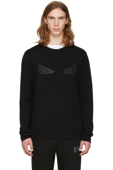 Fendi - Black 'Bag Bug' Pullover