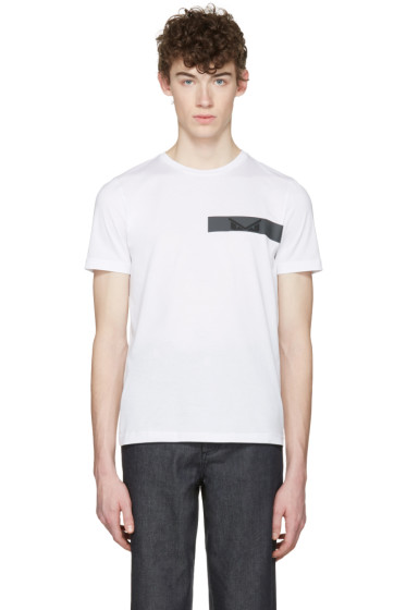 Fendi - White 'Bag Bugs' T-Shirt