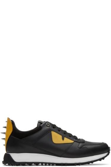 Fendi - Black 'Bag Bug' Sneakers