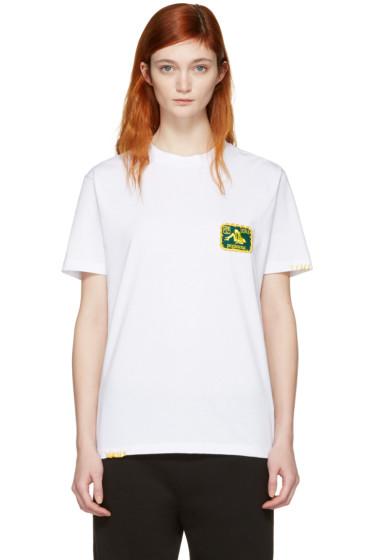 Palm Angels - White 'Kamasutra Libra' T-Shirt