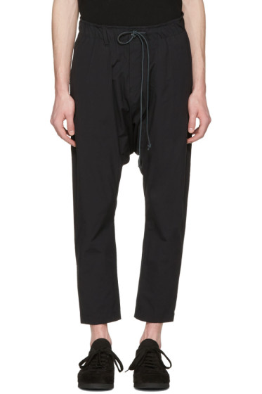 Attachment - Black Slim Cropped Trousers