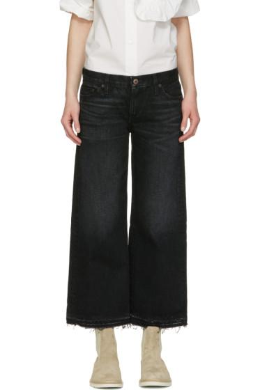 Simon Miller - Black Bora Cropped Jeans