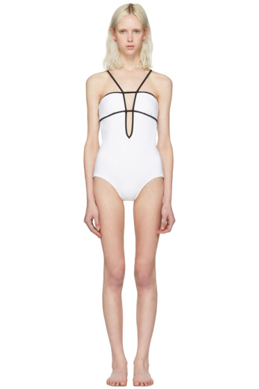 Araks - White & Black Harlow Swimsuit
