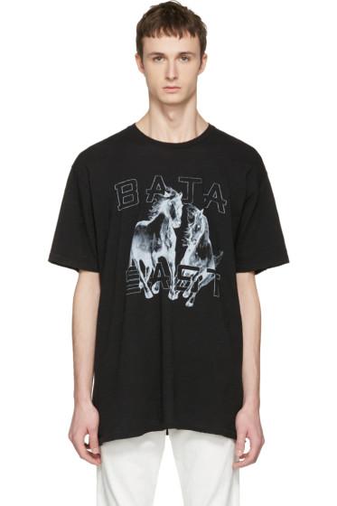 Baja East - ブラック Be T シャツ