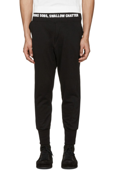 NILøS - Black Logo Lounge Pants