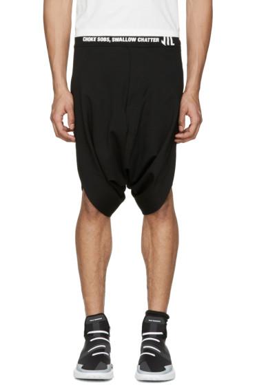 NILøS - Black Logo Shorts