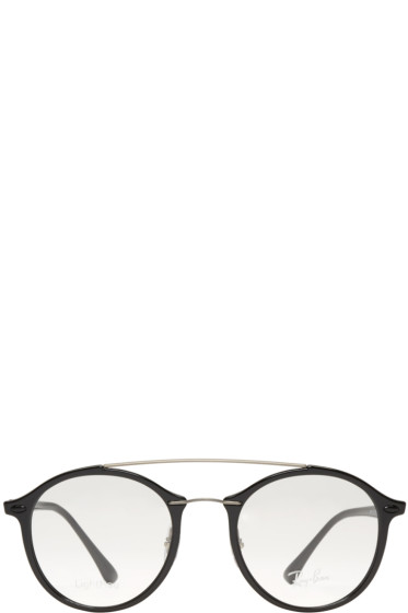 Ray-Ban - Black Double Bridge Glasses