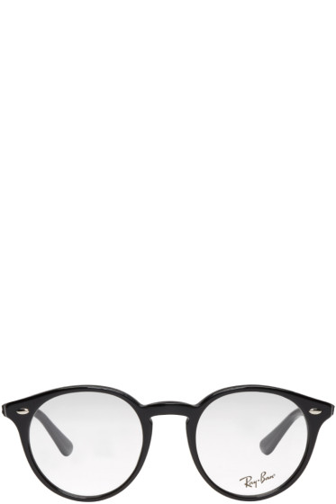 Ray-Ban - Black Round Optical Glasses