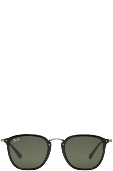 Ray-Ban - Black Metal Bridge Sunglasses