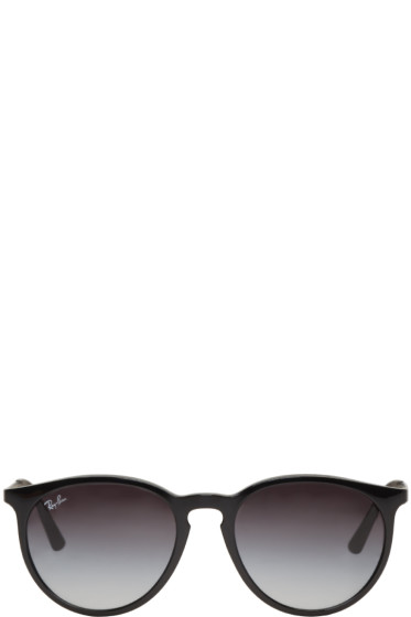 Ray-Ban - Black Round Sunglasses