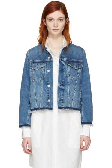 Amo - Indigo Denim Lola Jacket