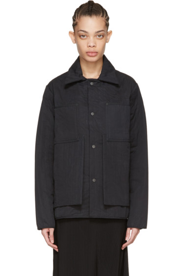 Craig Green - Black Quilted Workwear Jacket