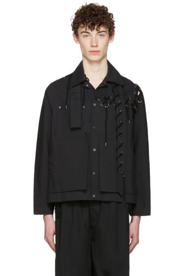 Craig Green - Black Laced Workwear Jacket