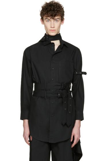 Craig Green - Black Cotton Long Shirt