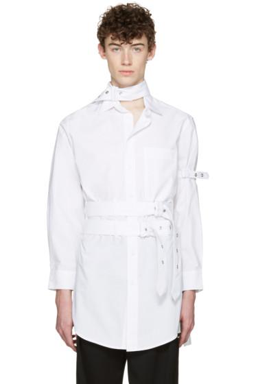 Craig Green - White Cotton Long Shirt