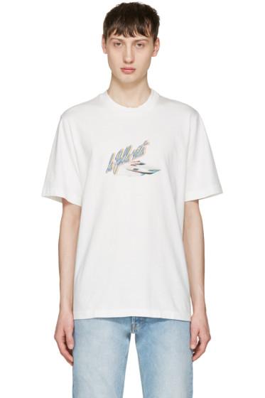Sunnei - White La Bella Vita T-Shirt